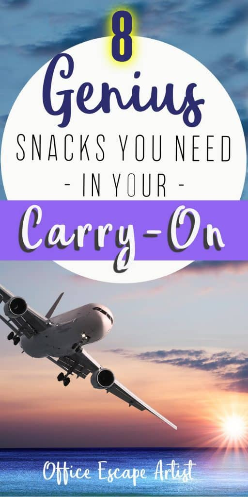 The 8 Best Airplane Snacks for Long Flights