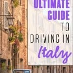 The Ultimate Guide to Driving in Italy