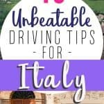 18 Tips for Driving in Italy