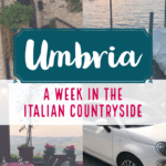 One Week In Umbria
