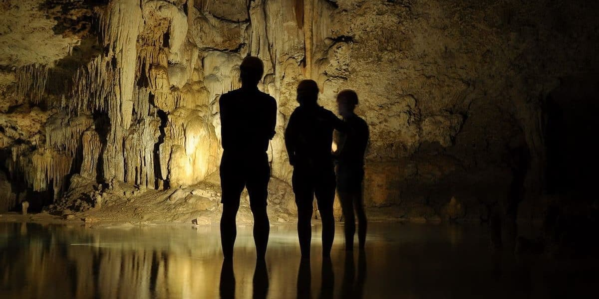 Rio Secreto caves Riviera Maya excursion