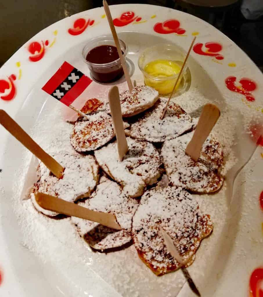 Dutch Pancakes Poffertjes - The Best Dutch Foods to Try in Amsterdam