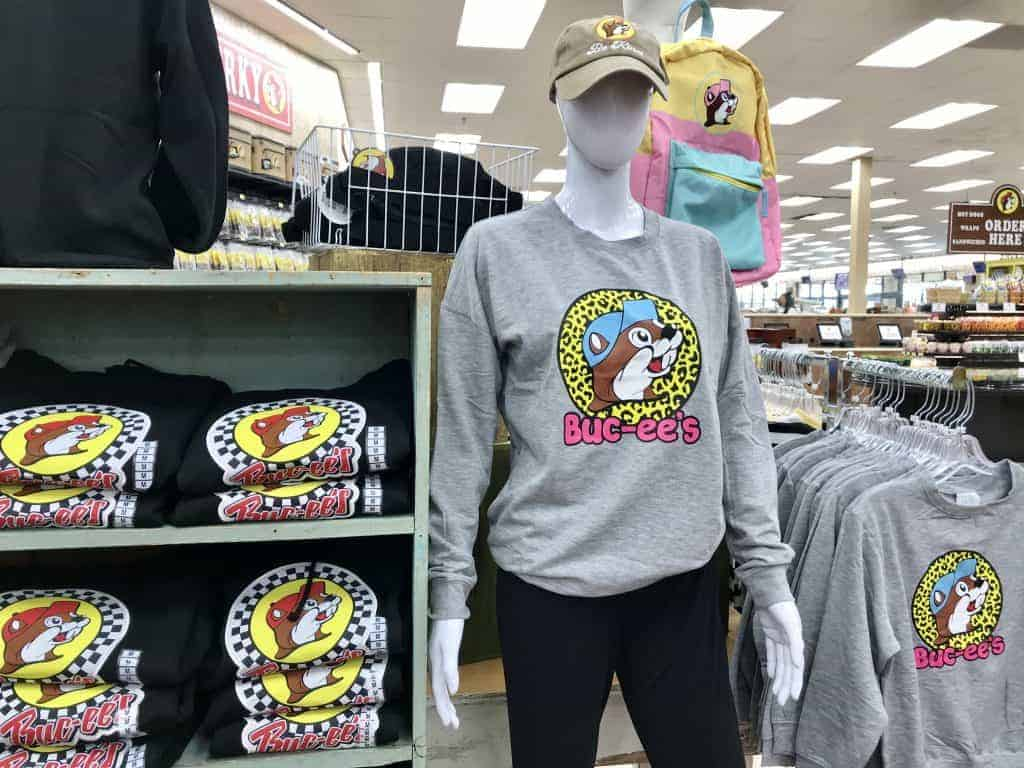 Best gifts to buy at Buc-ee's: Clothing and jackets