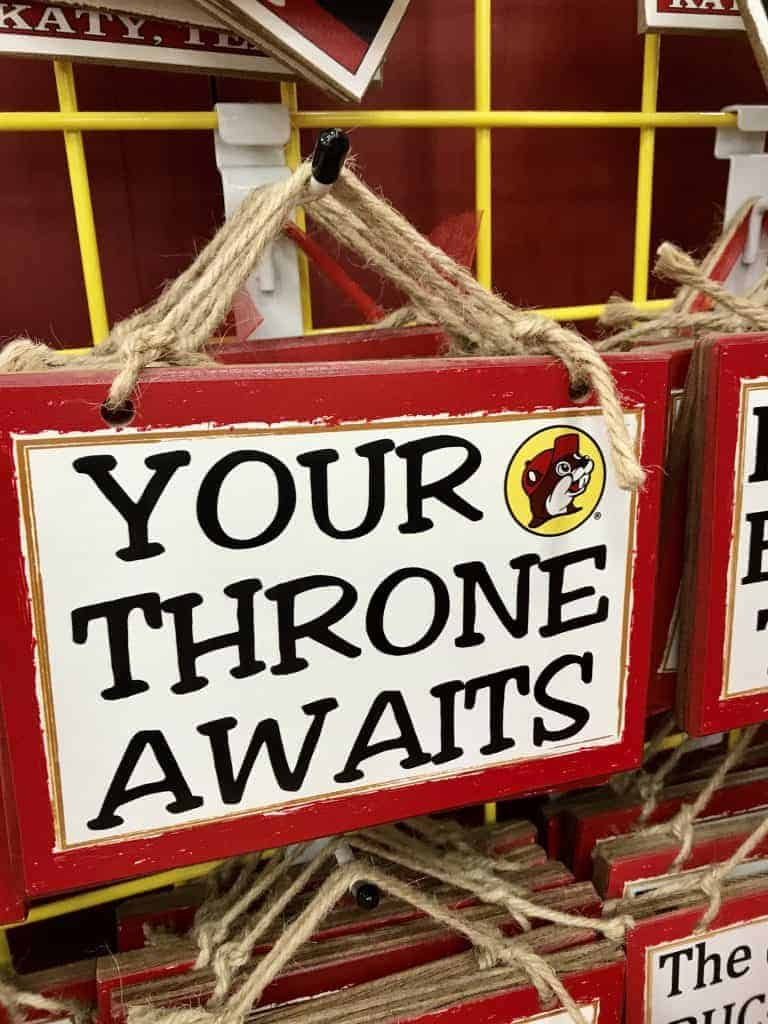 Best gifts to buy at Buc-ee's: Fun Wall Hangers