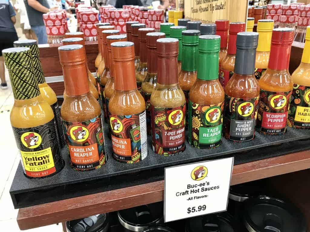 Gifts to buy at Buc-ee's: Texas sauces