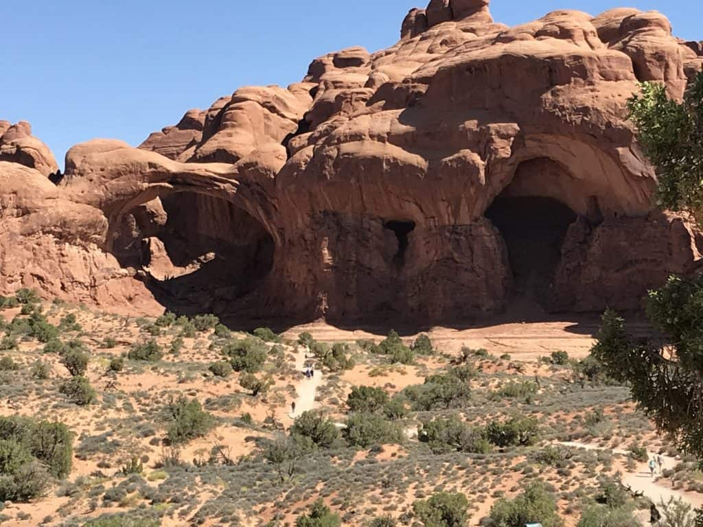 Double Arch - Arches National Park One Day Itinerary