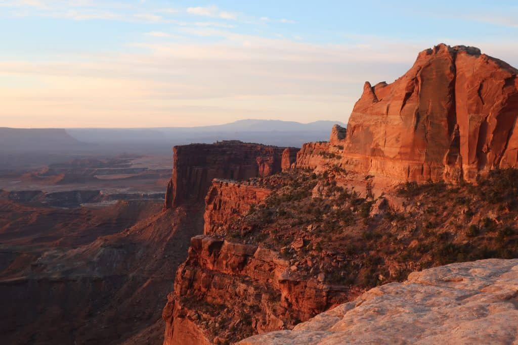 Canyonlands in One Day - View at Sunrise