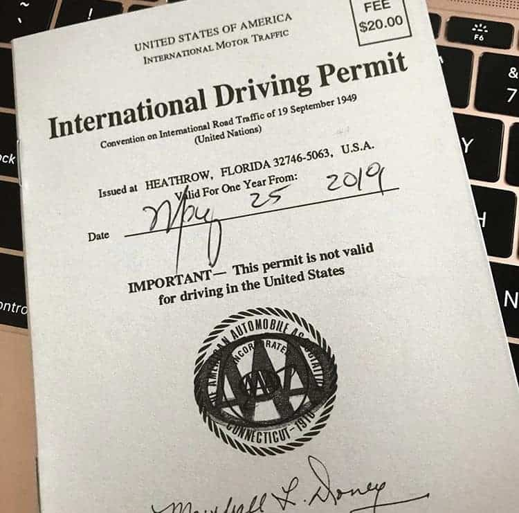 International Driving Permit - Italy - Tips for Driving in Italy for the First Time