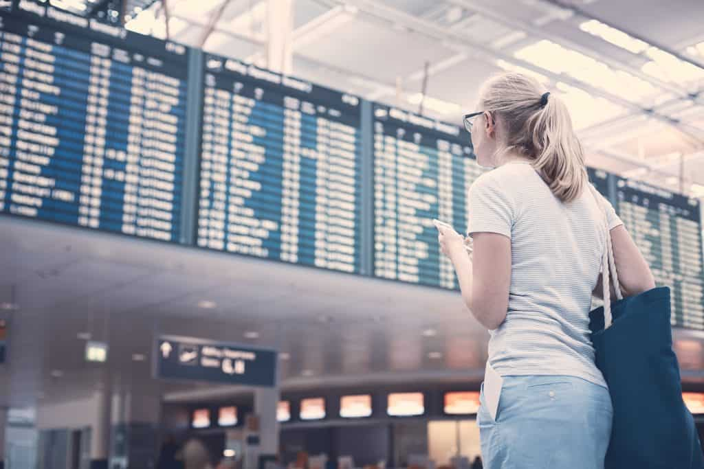 How do layovers work - check where to go for your next connection on the departures board!