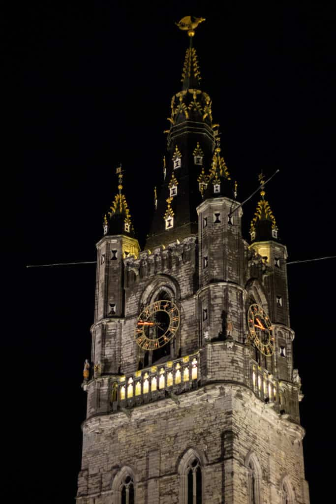 Ghent at Night 1