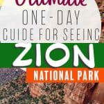 One day in Zion National Park